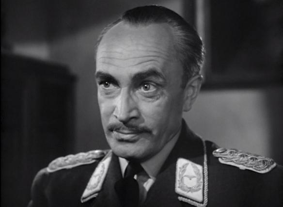 Conrad Veidt in Casablanca as Major Strasser.