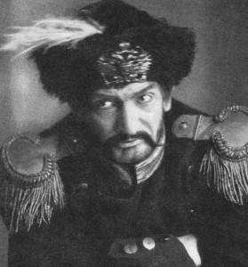 "Walter Wicclair as Czar Paul in ""Patriot"", 1937"