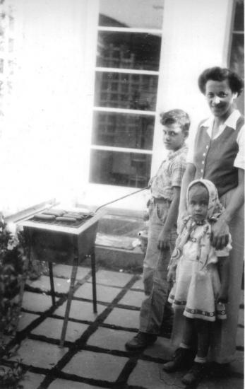 Me, Mom and Cecili Balin.
